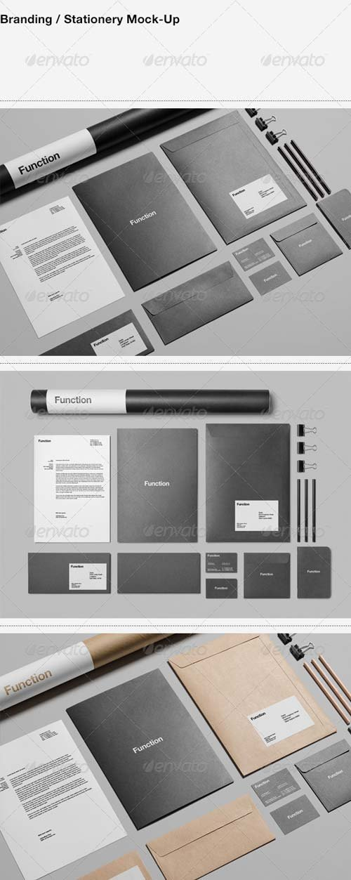 GraphicRiver Branding / Stationery Mock-Up