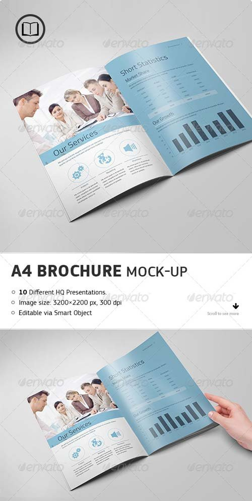 GraphicRiver Brochure / Catalog Mock-Up 7672767