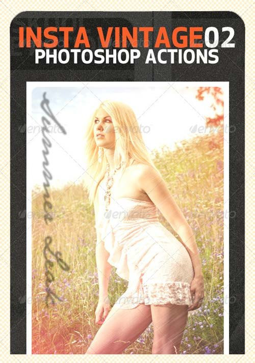 GraphicRiver INSTA Vintage Photoshop Actions (ATN)#2