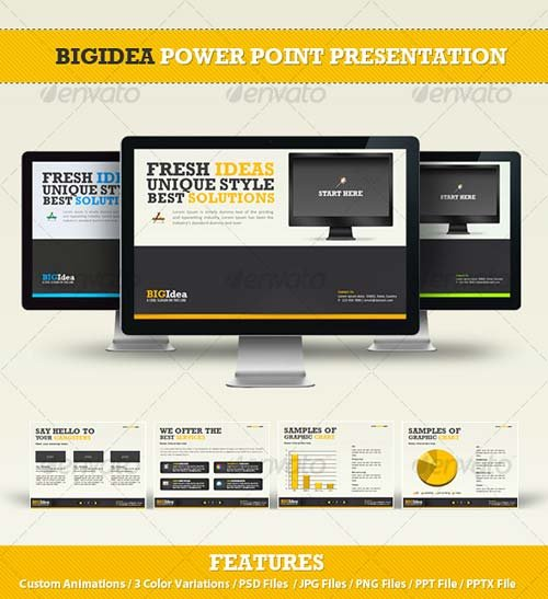 GraphicRiver BIGIdea Power Point Presentation