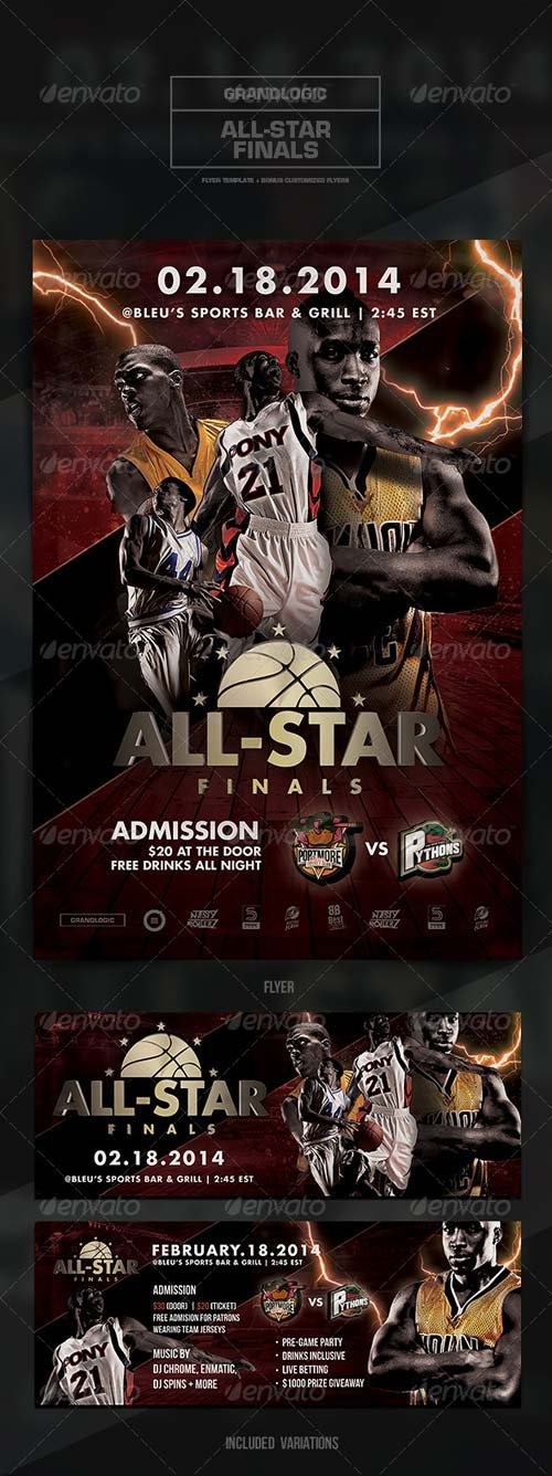 GraphicRiver Basketball Championship Flyer/Poster