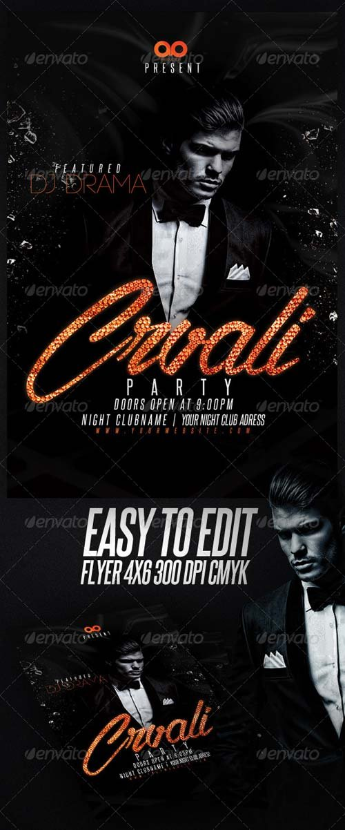 GraphicRiver Dj Flyer Template 7057946