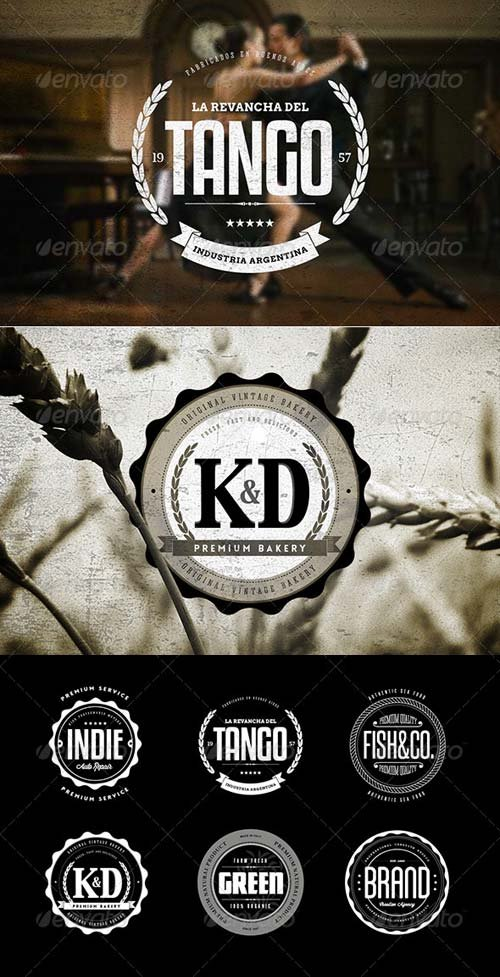 GraphicRiver Badges & Logos Vol.05
