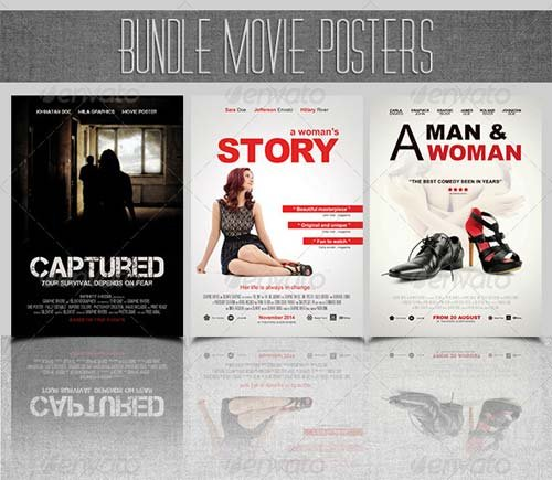 GraphicRiver Bundle Movie Posters