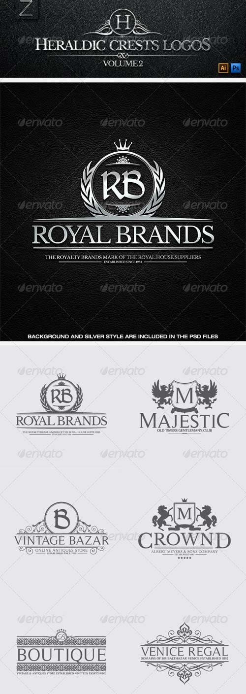 GraphicRiver Crest Logos Vol.2
