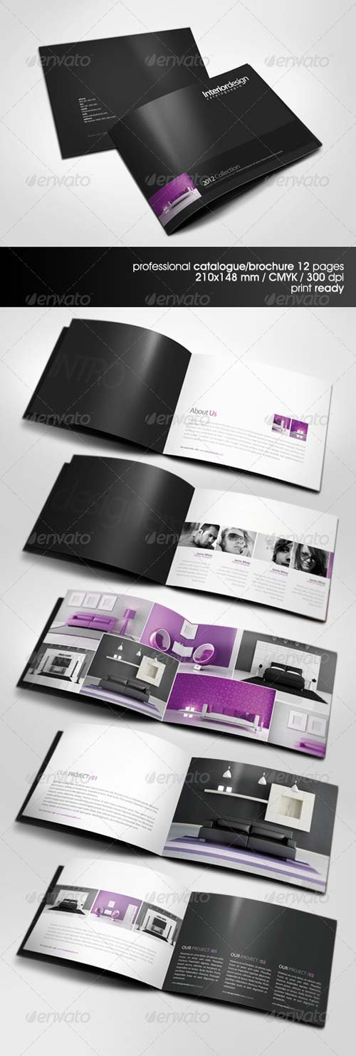 GraphicRiver Professional A5 Catalogue