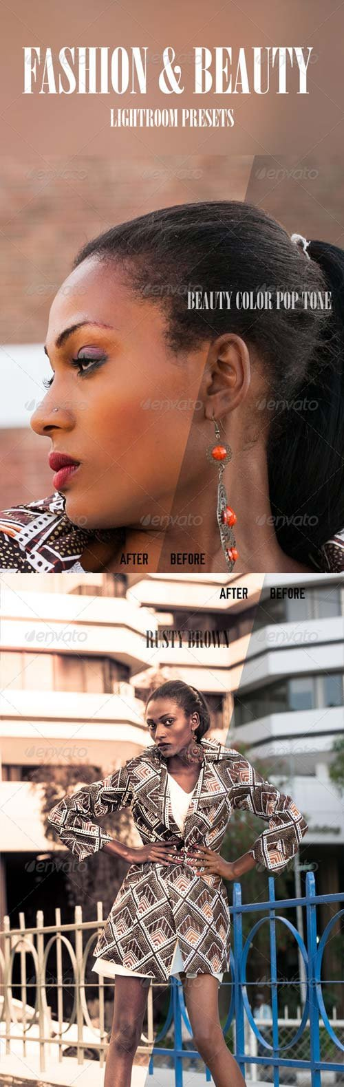 GraphicRiver Fashion And Beaty Presets