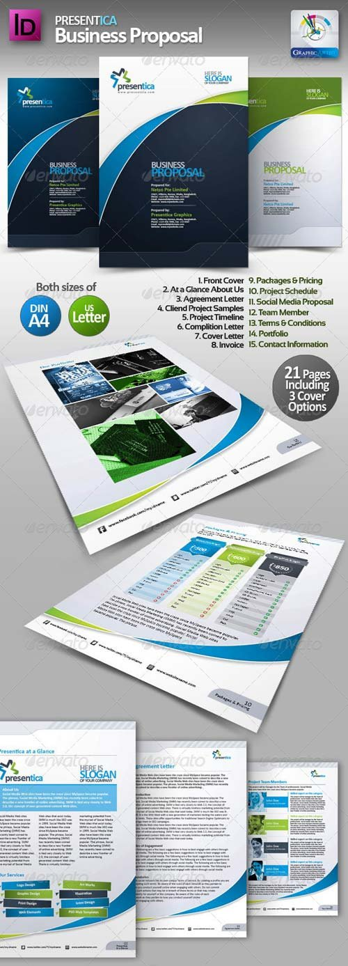 GraphicRiver Presentica Business Proposal