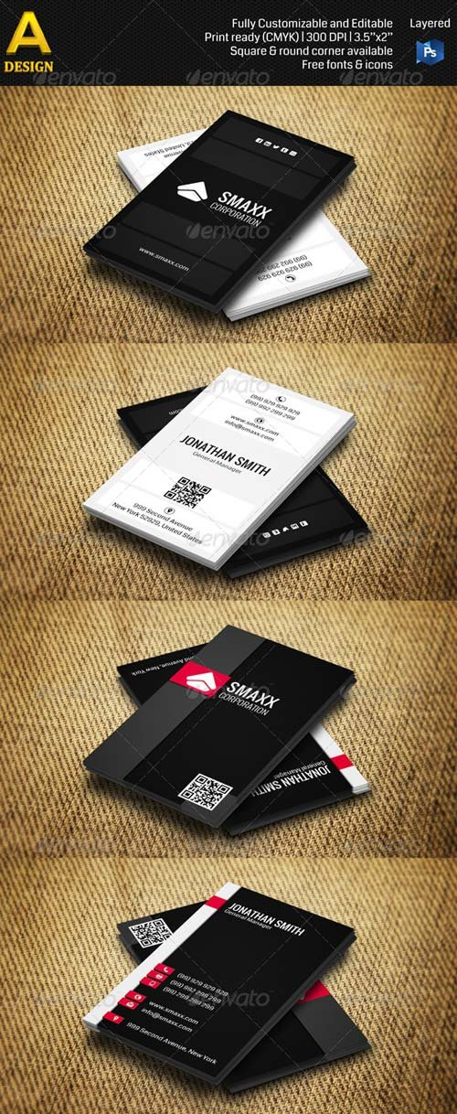 GraphicRiver Corporate Business Card Bundle ANB0017