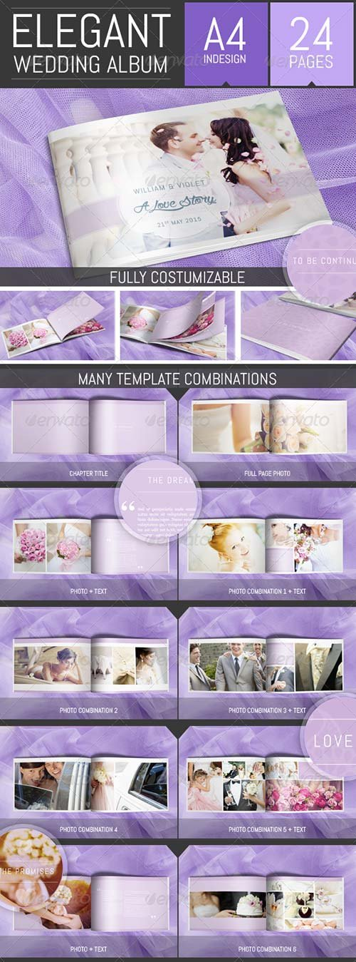 GraphicRiver Wedding Photo Album Template