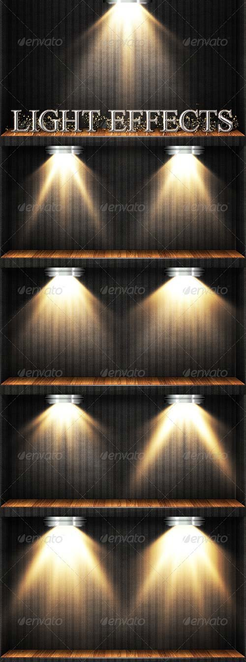 GraphicRiver Light Effects Set 3