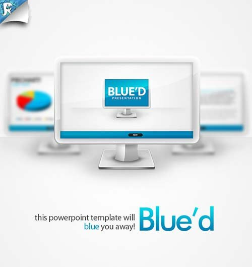 GraphicRiver Blue'd Presentation - Blue you away
