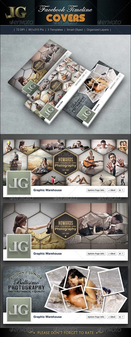 GraphicRiver Facebook Timeline Cover V6