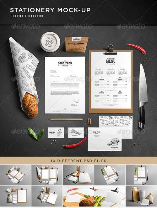 GraphicRiver Stationery / Branding Mock-Up 7484161