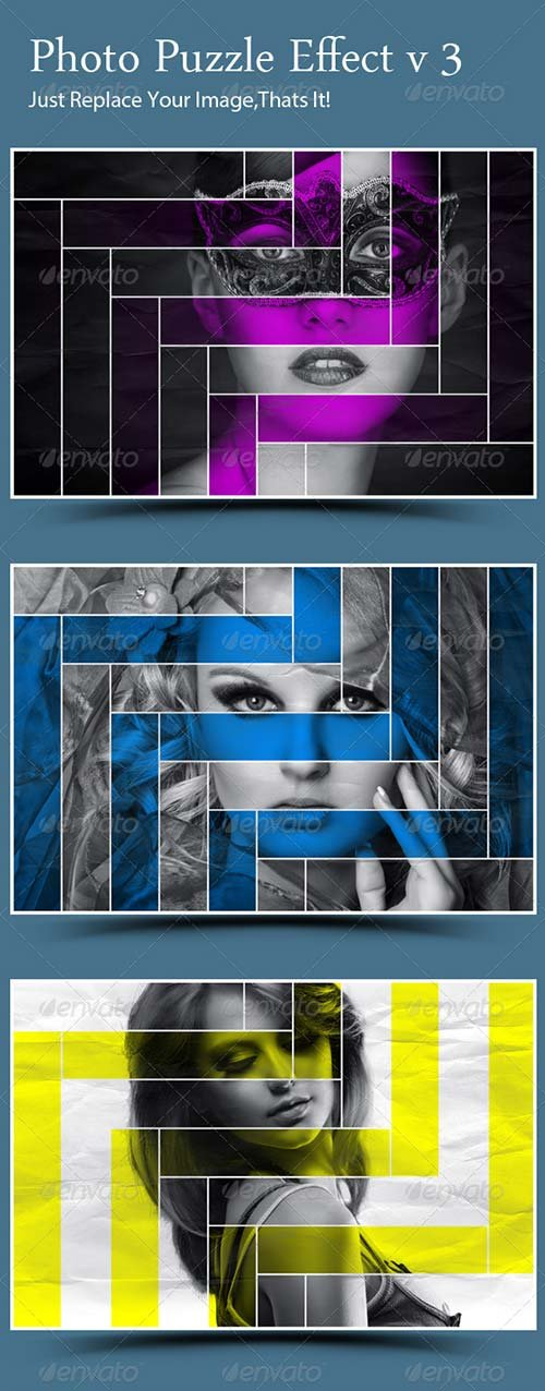 GraphicRiver Photo Puzzle Effect V3