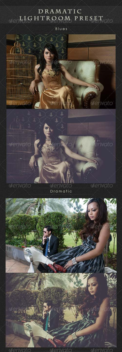 GraphicRiver Dramatic Lightroom Preset