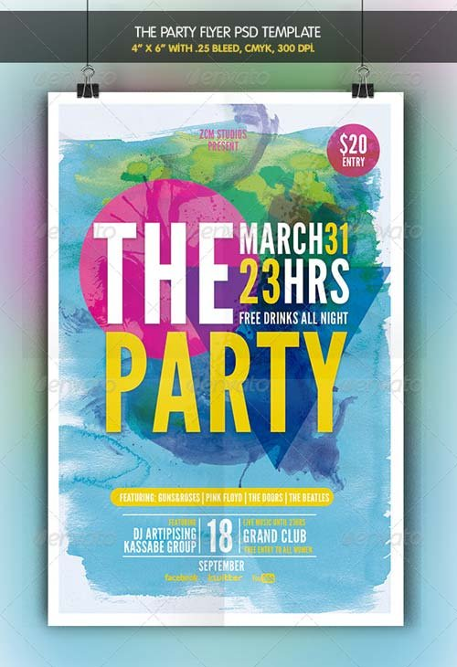 GraphicRiver The Party | Flyer Template