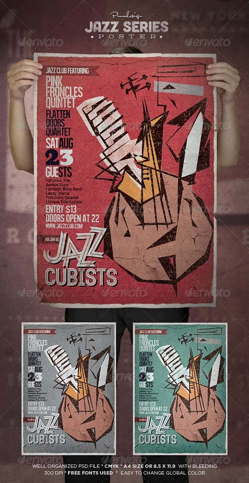GraphicRiver Jazz | Flyer/Poster Template