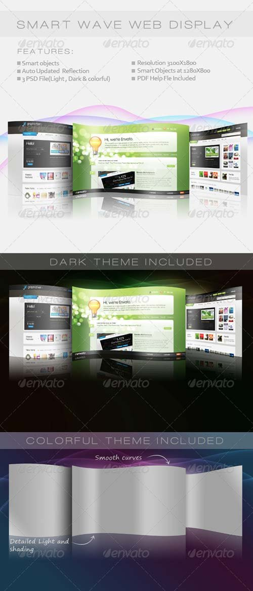GraphicRiver Smart Wave Web Display