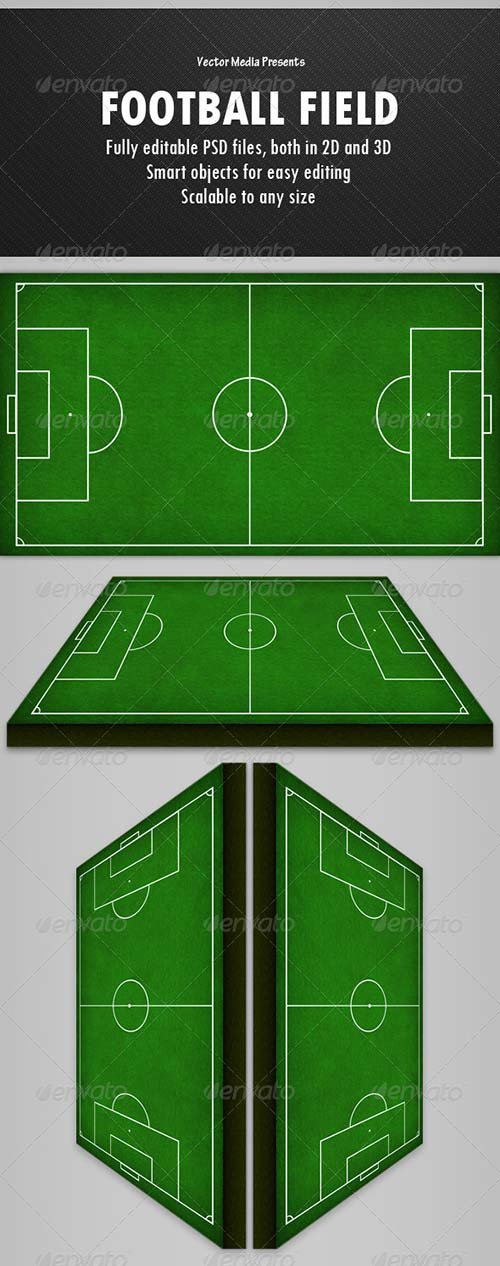 GraphicRiver Football Field