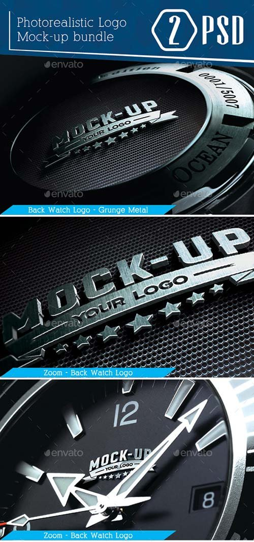 GraphicRiver Photorealistic Logo Mockup Vol.1