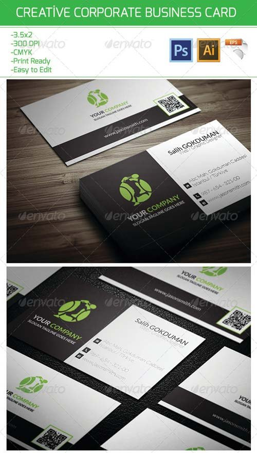 GraphicRiver Creative Corporate Business Card 21