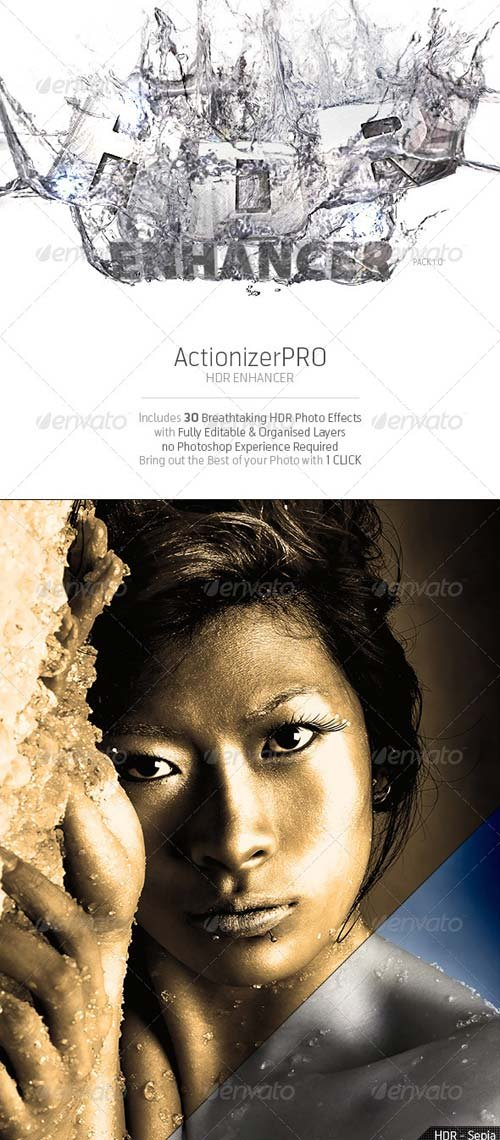 GraphicRiver ActionizerPRO - HDR Enhancer Pack 1.0