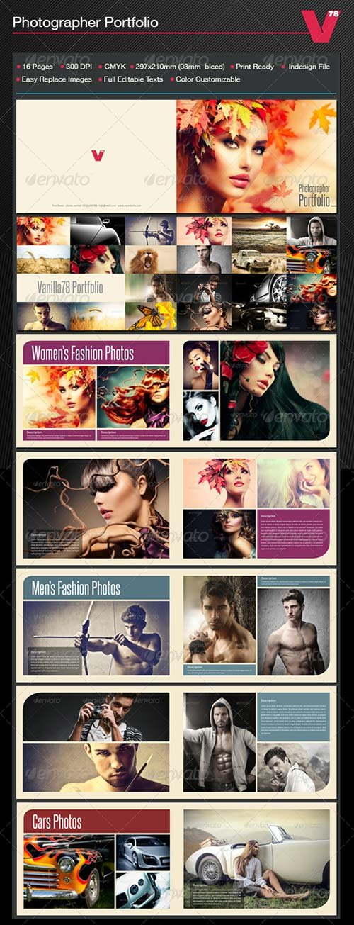 GraphicRiver Photographer Portfolio