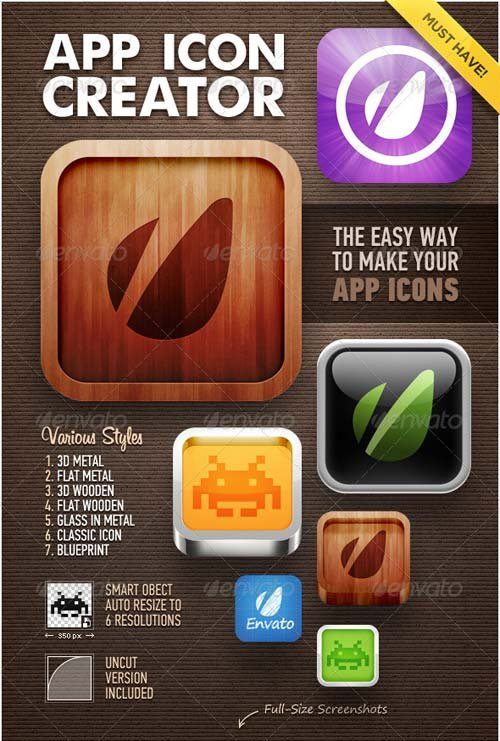 GraphicRiver App Icon Creator