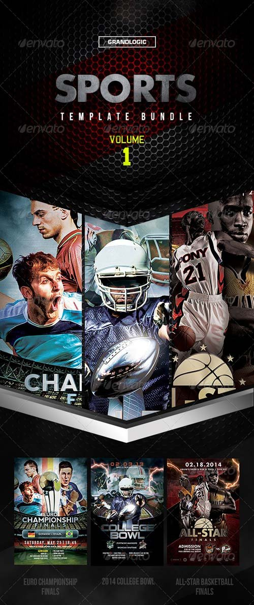 GraphicRiver Sports Bundle Vol 1
