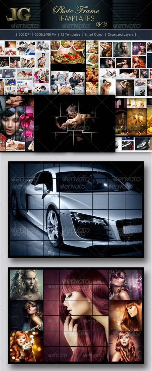 GraphicRiver Photo Frames V3