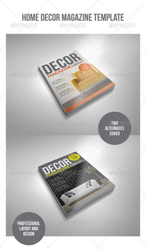 GraphicRiver A4 20 Pages mgz (Vol. 1)