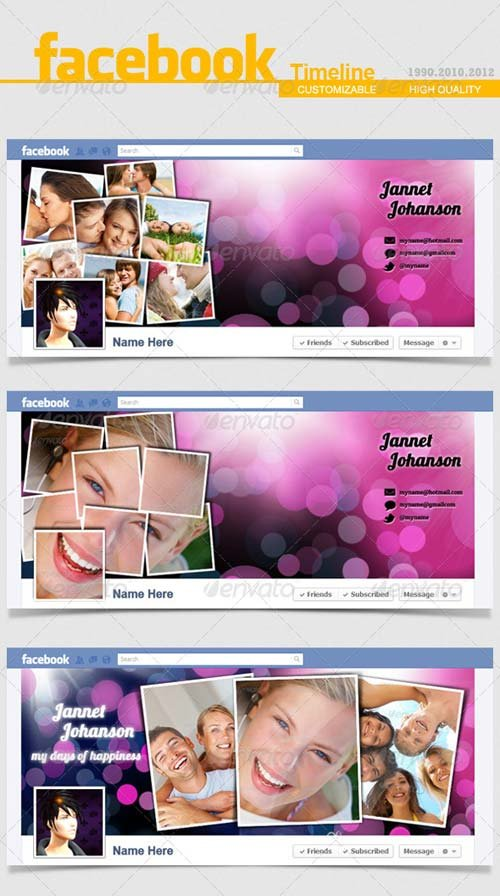 GraphicRiver Facebook Timeline Cover V.6