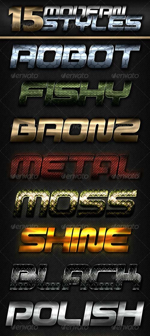 GraphicRiver 15 Modern Styles