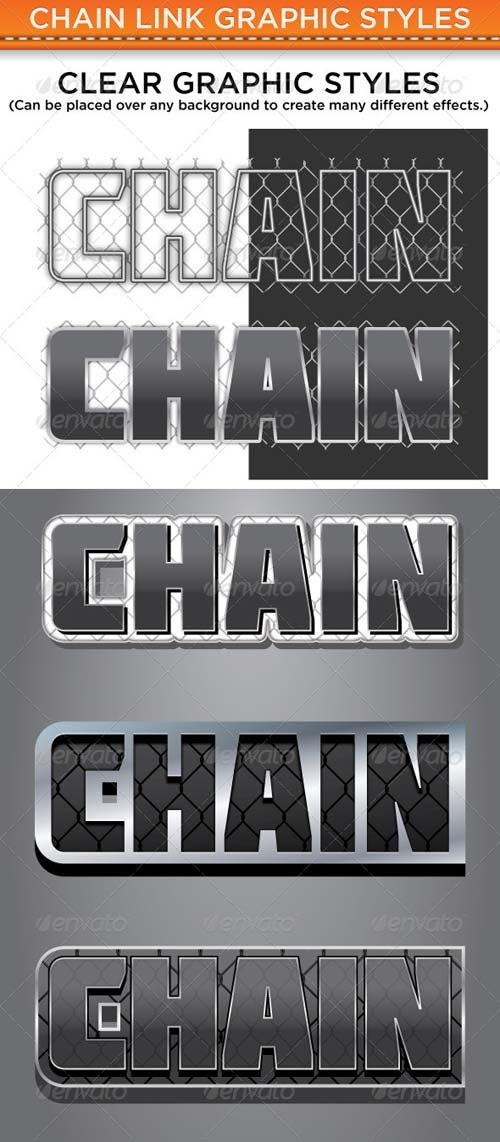 GraphicRiver Chain Link Graphic Styles