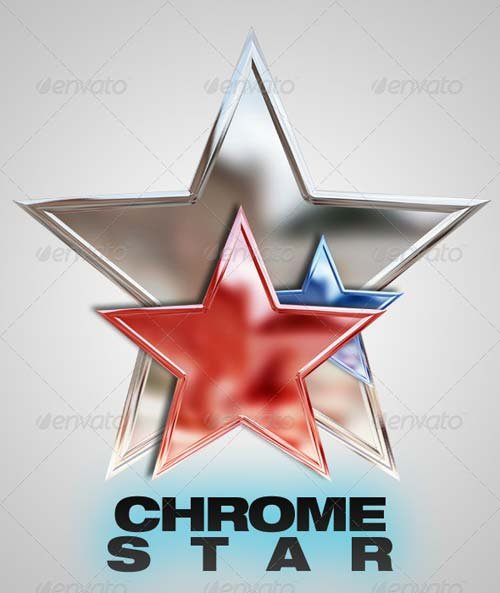 GraphicRiver Chrome Star