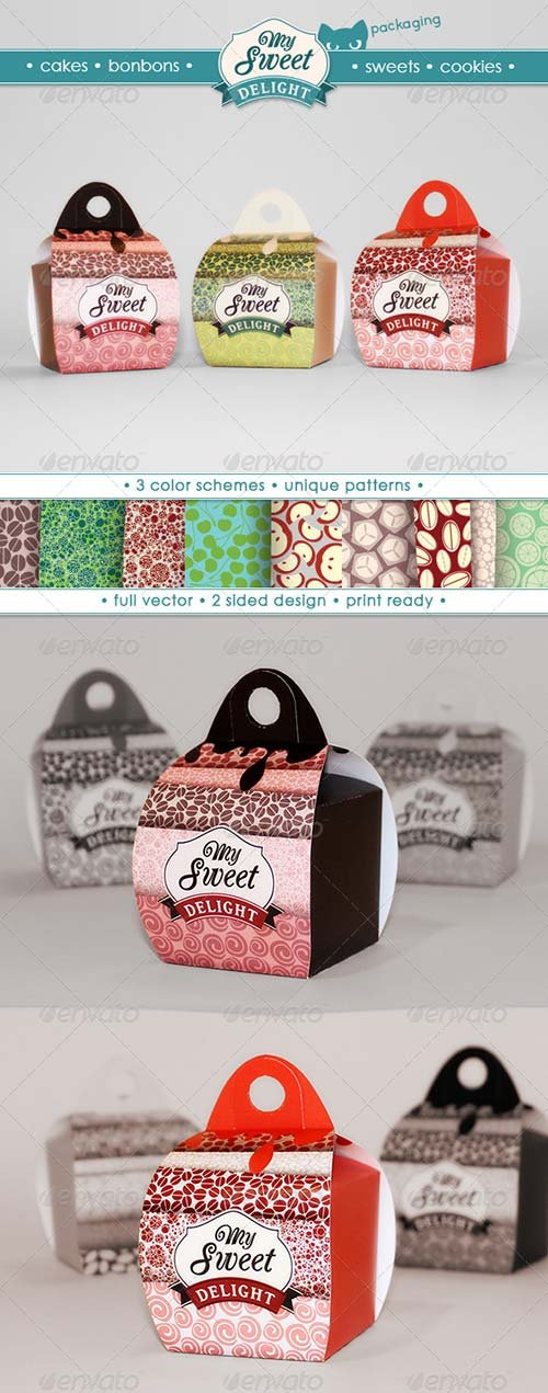 GraphicRiver My Sweet Delight Box
