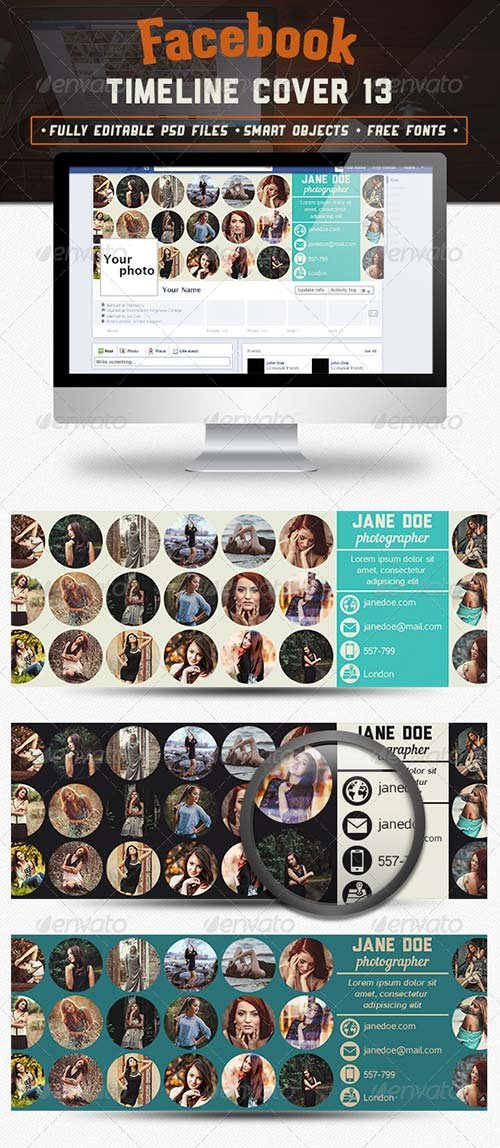 GraphicRiver Facebook Timeline Cover 13