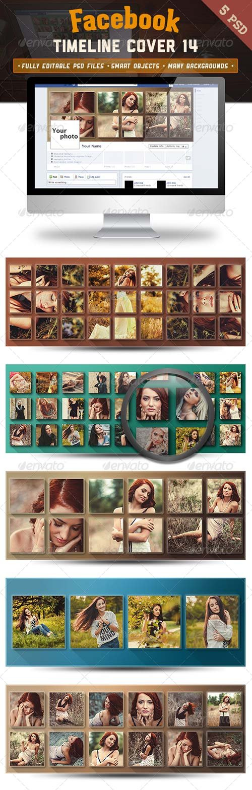 GraphicRiver Facebook Timeline Cover 14