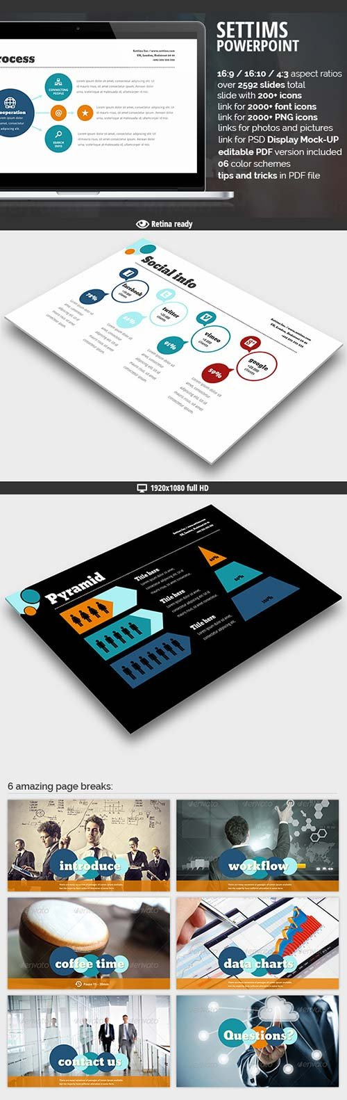 GraphicRiver Settims Powerpoint Presentation