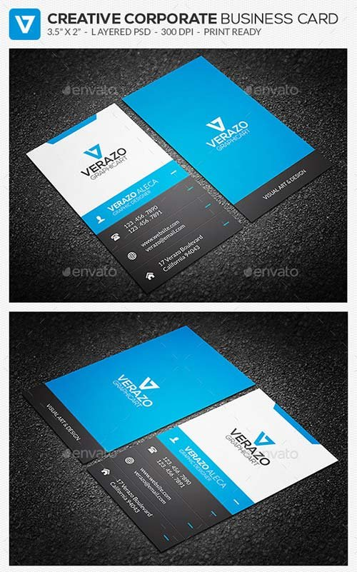 GraphicRiver Creative Corporate Business Card 61