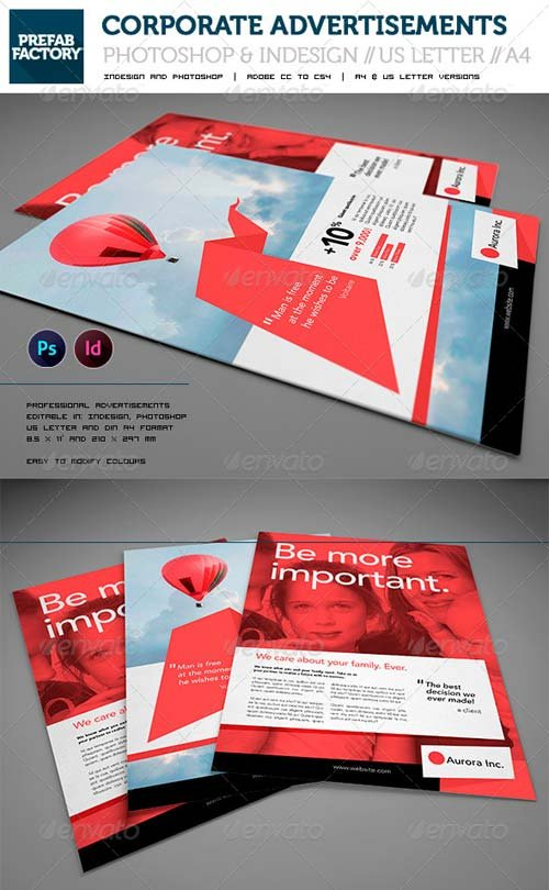 GraphicRiver Corporate Flyers // Advertisement // Multipurpose