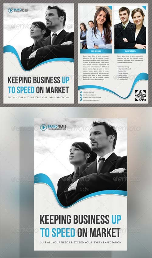 GraphicRiver Corporate Product Flyer 25