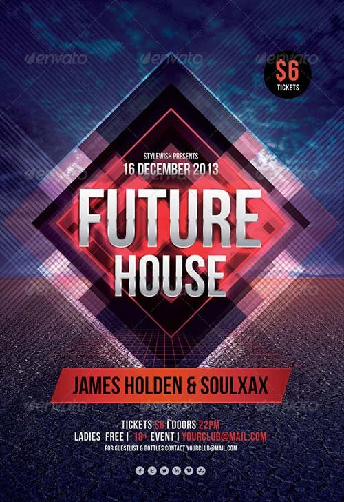 GraphicRiver Future House Flyer