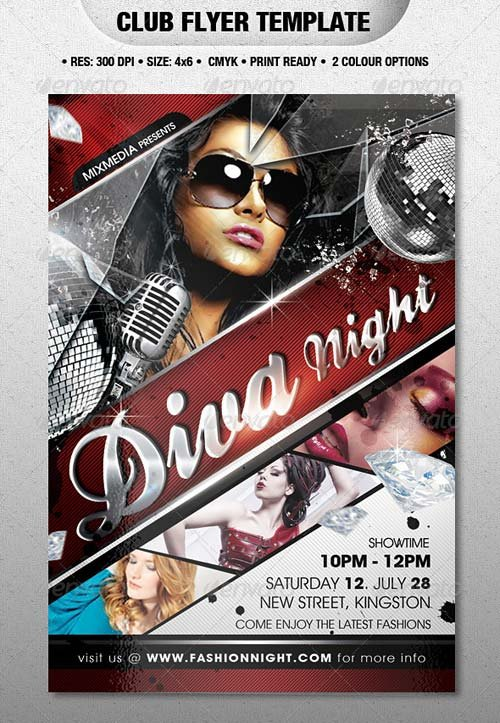 GraphicRiver Club Flyer