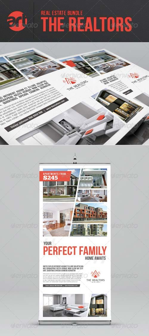 GraphicRiver The Realtors Bundle