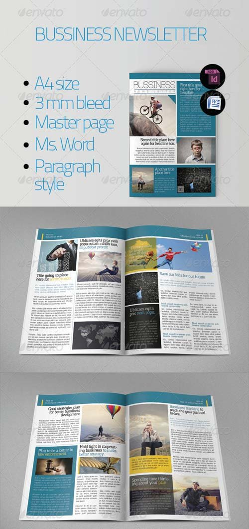 GraphicRiver Bussiness Newsletter