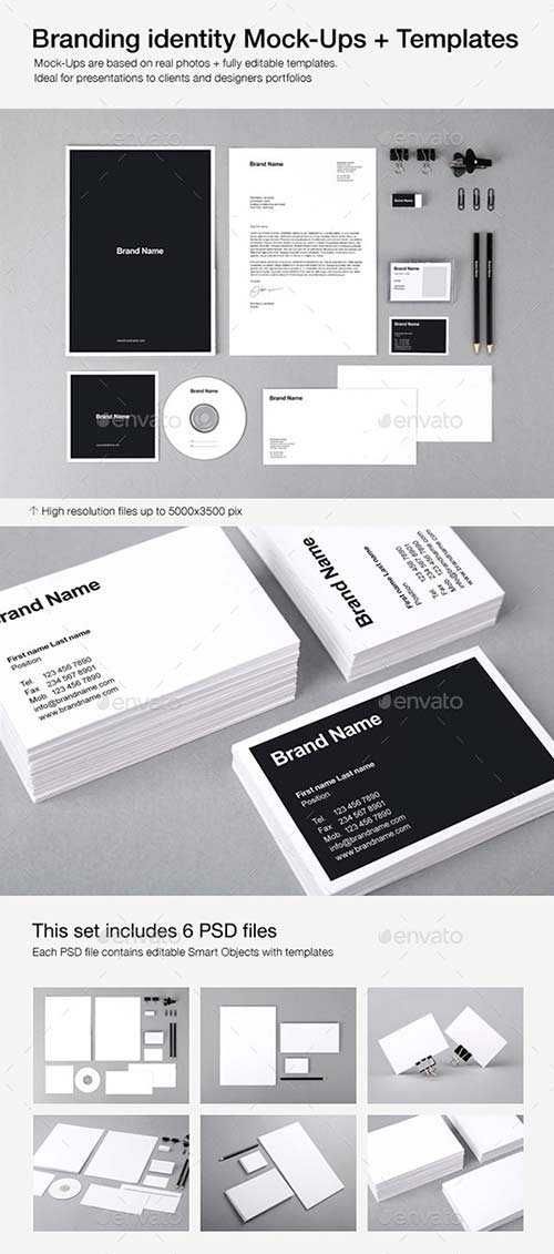GraphicRiver Branding Identity Mock-Ups and Templates