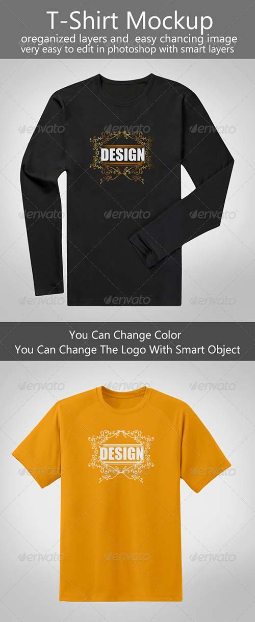 GraphicRiver T-Shirt Mock-up 8433185