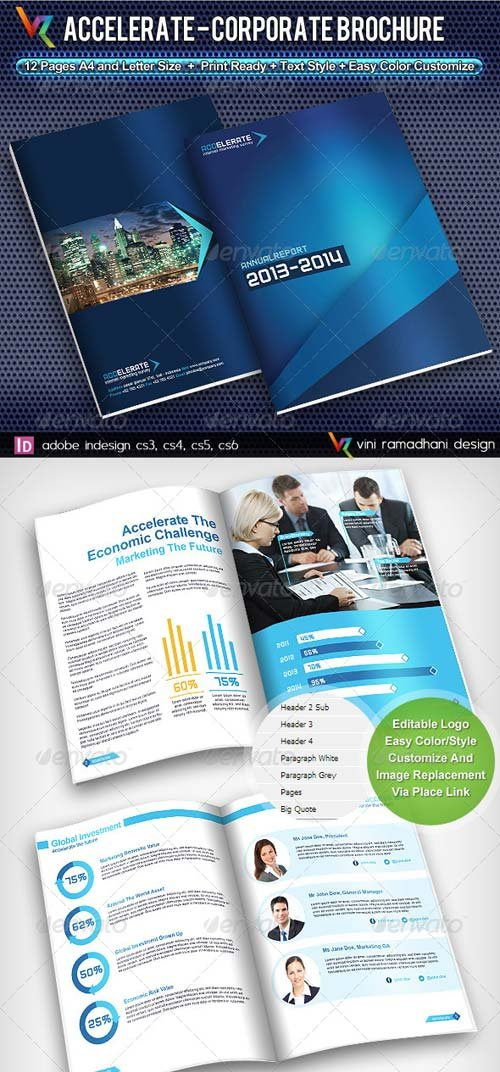 GraphicRiver Accelerate Corporate Brochure